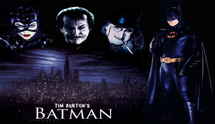 BATMAN (TIM BURTON, 1989)