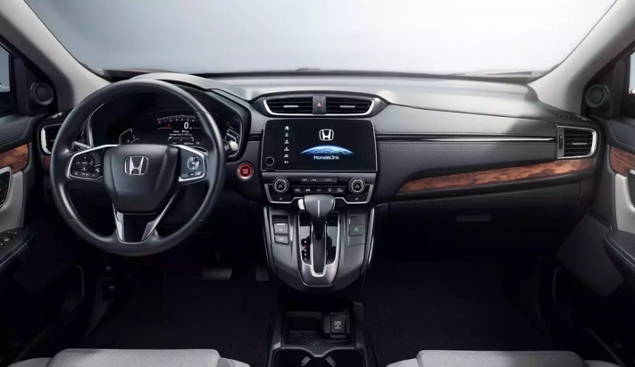 honda cr-v inside view