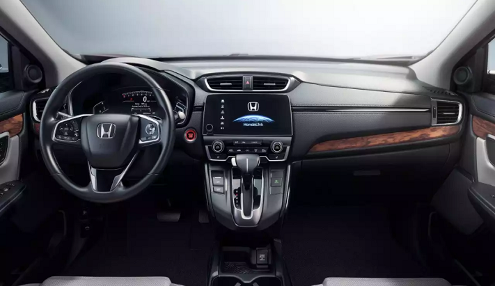 honda cr-v inside