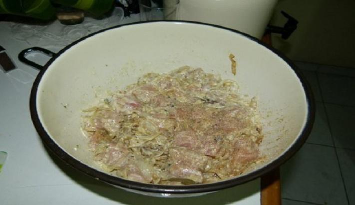 marinating